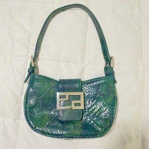 Vintage Snake Skin Mini Bag